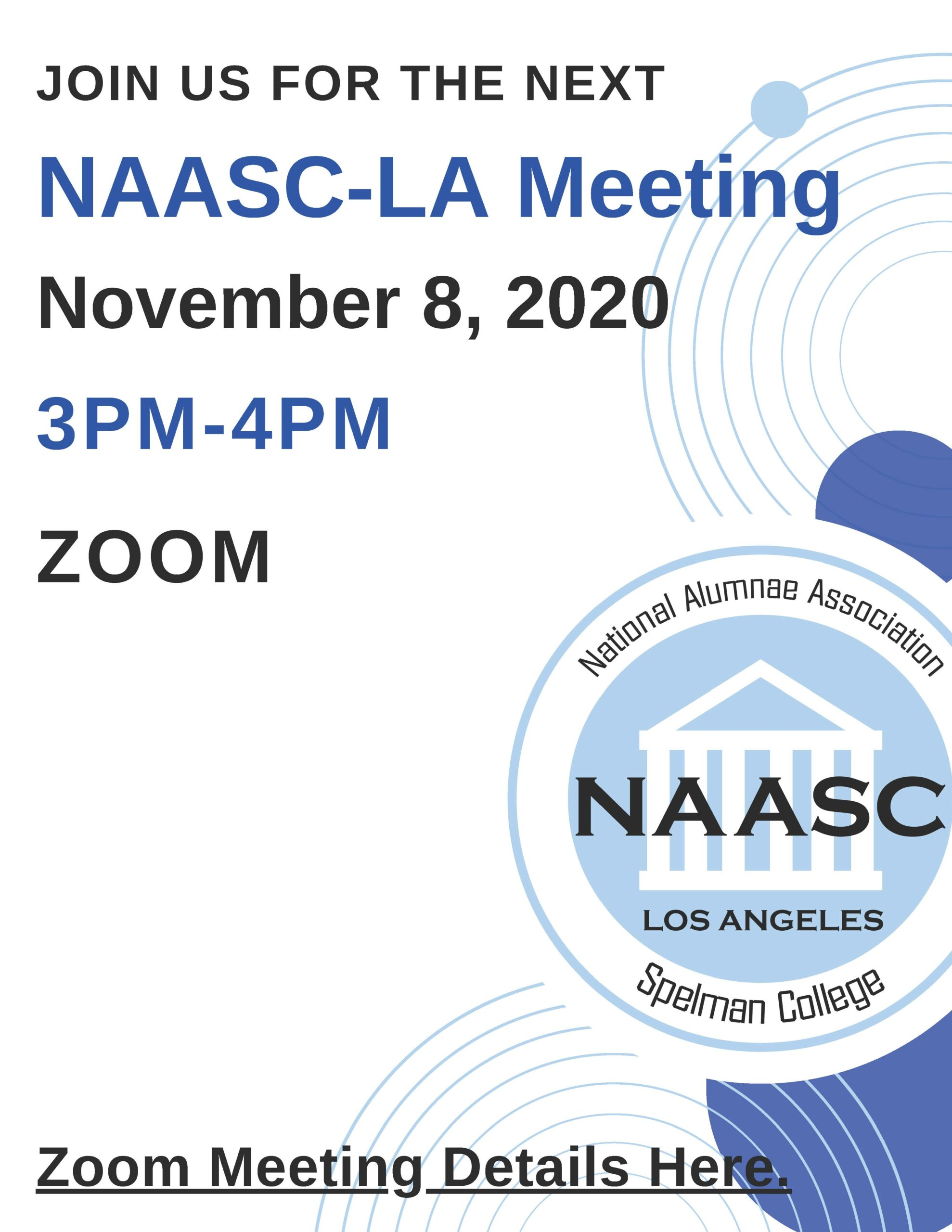 NAASC-LA gENERAL MEETING