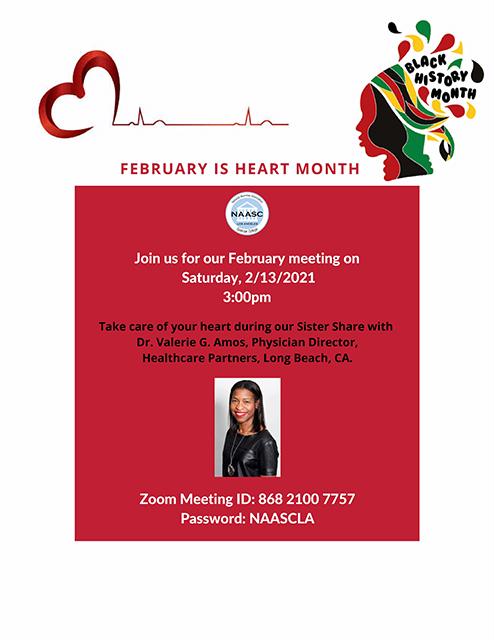 NAASC-LA February Meeting Flyer