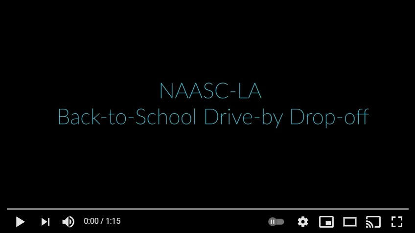 Back To School Drive By...Drop Off