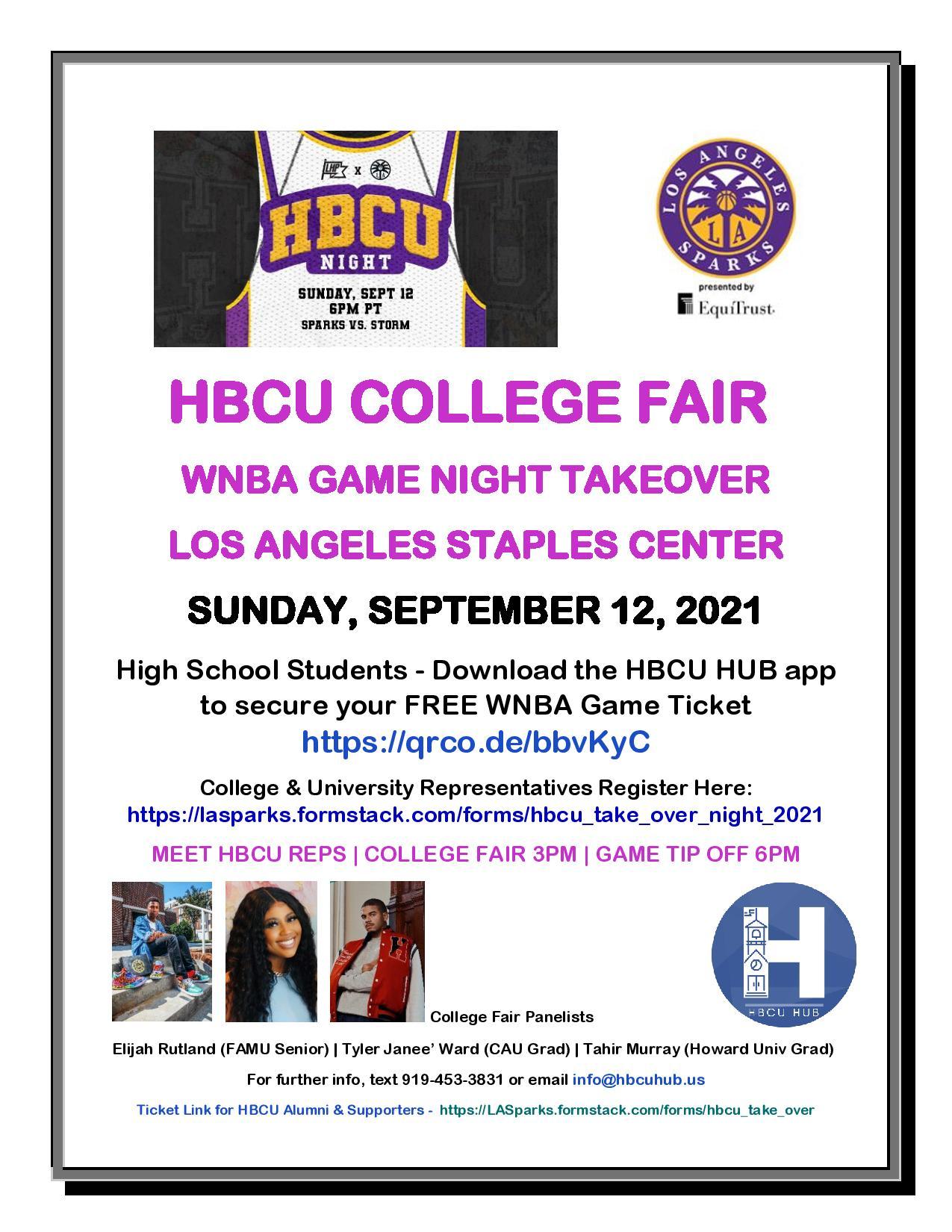 HBCU College Fair 09-12-2021